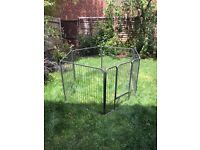 Bunny business puppy or pet pen for use inside or outside