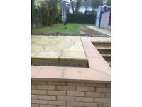 Garden coping stone tops