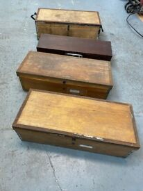 Old Wooden Boxes