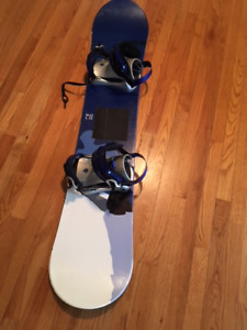 FOR SALE : SOLO SNOWBOARD / LQ 2500 BINDINGS
