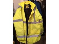 Dunlop High visability Jacket size 2XL - only £9.-