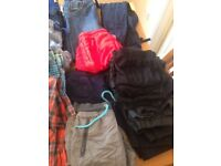 Bundle of boys clothes aged 9-10 years