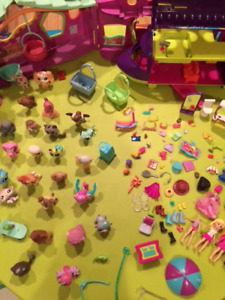Polly pocket et Pet shop