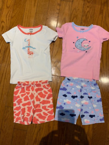 3T Summer short sleeved Jammies / PJs