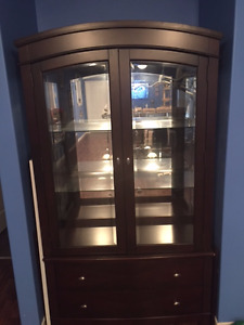 Display cabinets for dishes or valuables for display