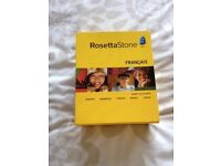 Rosetta Stone - Complete french 1-5 CDS with microphone