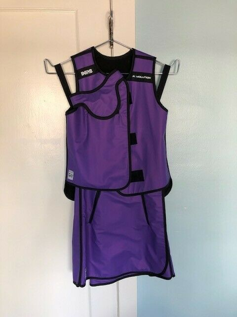Women's INFAB Revolution X-Small/Small Lead Vest/Skirt.Brand New. Color Purple.