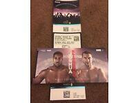 2 x Joshua v Klitschko tickets