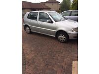 VW Polo for spares or repair, runs but needs work to pass MOT