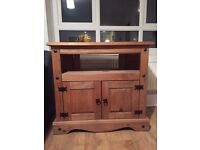 Lovely matching wooden TV stand and coffee sale for sale