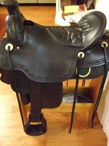 Tucker Cimarron Western Saddle