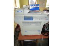 B&W Laser Printer/Fax Network