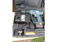 Black & Decker 12V drill, comes with one battery & charger and carry case. view