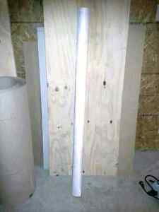 Tyvek, Steelwood Door, Ram Board, Cupboard Knobs