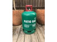 CALOR PATIO GAS CYLINDER FOR BBQ's, GARDEN HEATERS ETC - 13KG - EMPTY