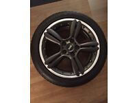 Mini Paceman 18' wheels and tyres