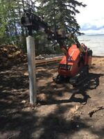Screwpiles, Residential, Commercial, Industrial, Wanted