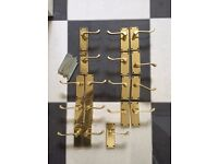 Solid Brass Door handles - 17 Solid brass door handles