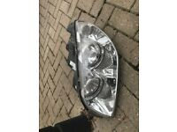 Fiat Punto - 53 reg - front light cluster. Really good condition as recently bought new