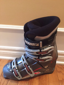 Downhill Skiis, Boots, Poles and Boot Bag
