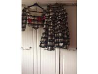 Flamenco top and skirt