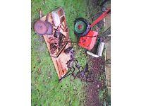 Job lot- 2 BMB Hoemate small tractors