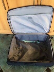 Antler 97 litre black suitcase