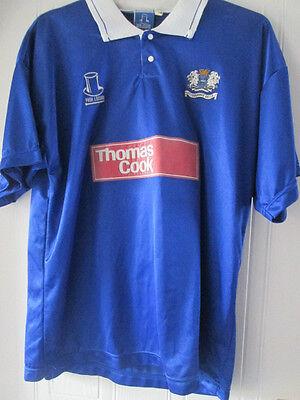 Peterborough United 1993-1995 Home Football Shirt Size 46