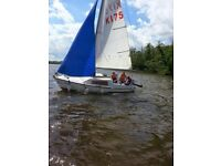 Pegasus Pirate Trailer/Sailing Yacht