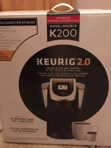 Keurig 2.0 used only a few times!!  Like new!