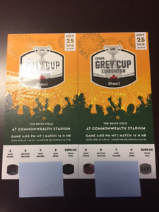 Great Tickets for Grey Cup 2018