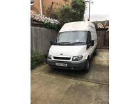 Ford Transit 350 LWB High roof with racking