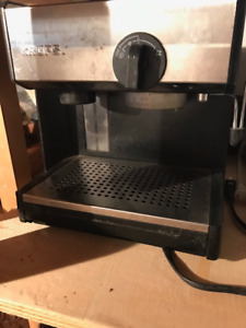 Krupps used capuccino machine