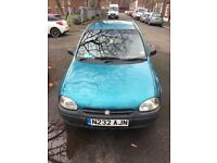 Vauxhall Corsa 1.4. Ideal first car or city run around.