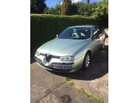 Alfa Romeo 2.4 diesel saloon 2001 outstanding condition low mileage