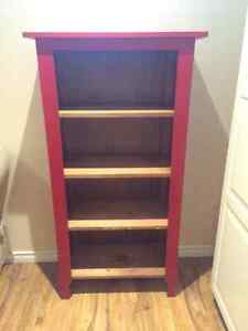 Bookcase with 4 shelves - Mennonite Furniture.  Solid wood.