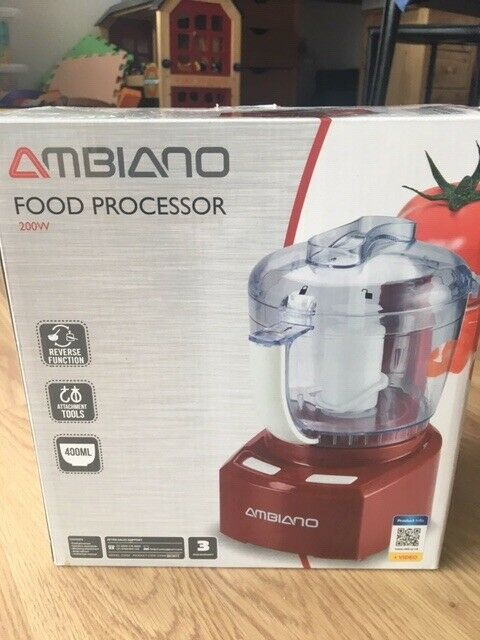 Ambiano Food Processor, Red | in London | Gumtree