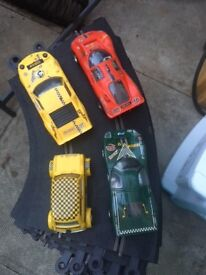 Job lot of vintage Scalextric,
