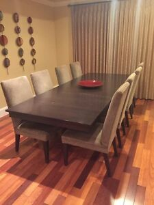 Contemporary Dining Room Suite - Solid Maple