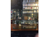 Glass Display Cabinet by LINCAT, MADE IN UK, GC36D £150 ono