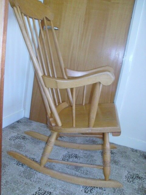 Rocking chair.