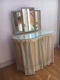 Pair of 1950s retro vintage Dressing Tables – sold as a pair