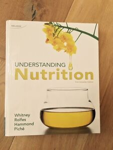 Understanding Nutrition Textbook, 1st Canadian edition