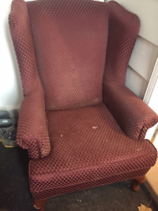 Used Chair - needs reupholstery