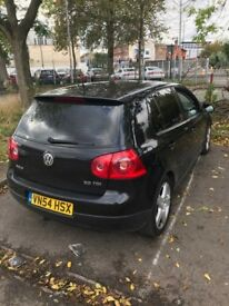 Volkswagen Golf 2.0 litre in black