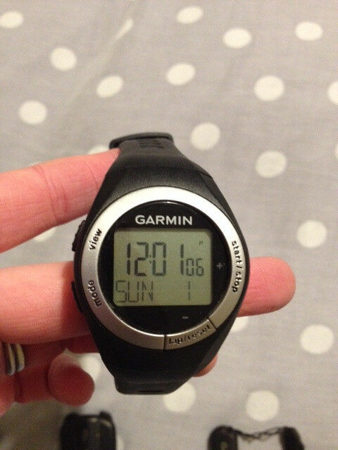 Garmin Forerunner 50 bundle with watch and heart rate monitor