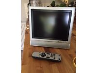 10.5inch x 8inch screen mini television
