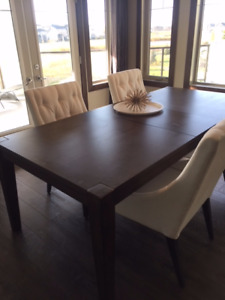 NEW Dining Room Table Purchased From Dufresne Oct 10 17