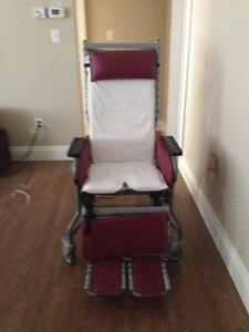 WHEEL CHAIR PATIENT CARE CHAIR LOUNGER