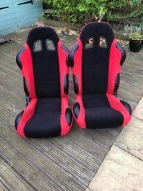 Bucket seats brand new